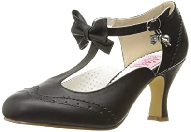 c870b825246 Pinup Couture Women s Flapper-11 T-Bar Heels  Amazon.co.uk  Shoes   Bags