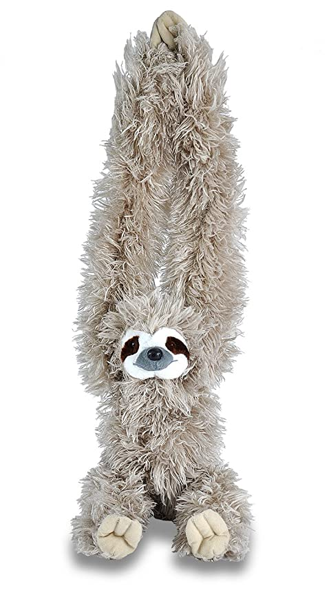 Amazon Com Wild Republic Hanging Three Toed Sloth Plush Stuffed