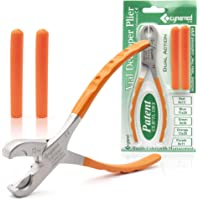Cynamed Twin Action Decapper Pliers - Perfect for Decapping 13mm and 20mm Crimped Vials and Bottles