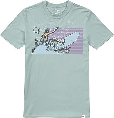 Ocean Pacific Surf Lines Camiseta para Hombre: Amazon.es: Ropa y accesorios