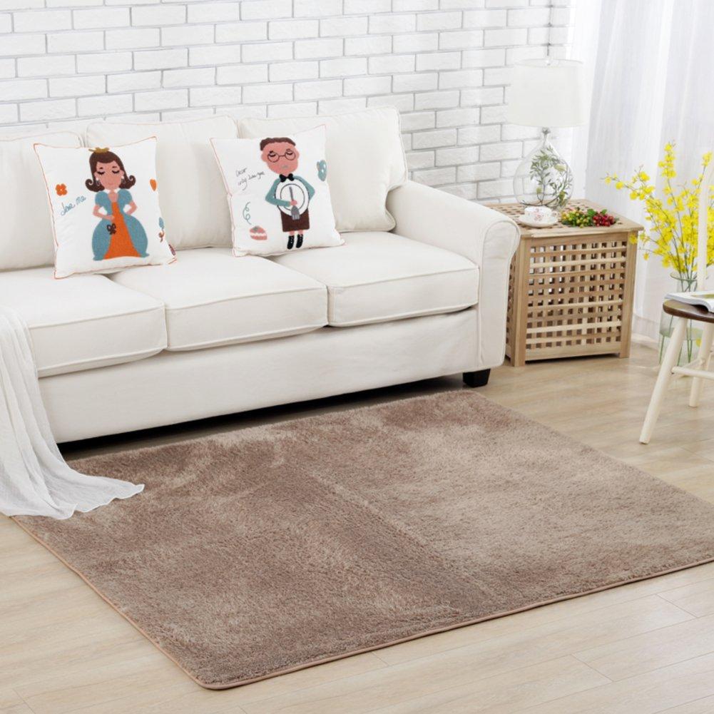 Fashion simple carpet The crawling child blanket Simple bed blanket Bedroom living room carpet-A 150x180cm(59x71inch)