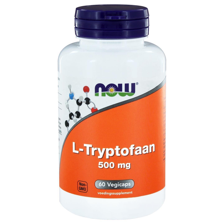 Now Foods, L-Tryptophan 500 mg, 60 Veggie Caps: Amazon.es: Alimentación y bebidas