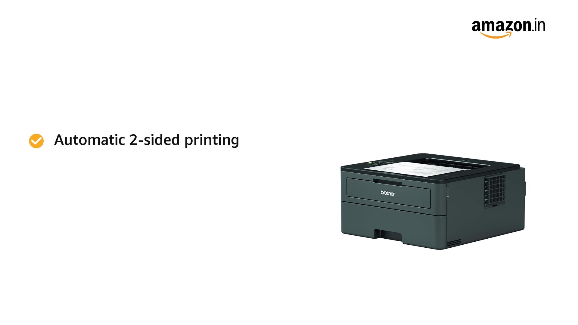 Brother HL-L2351DW Mono Laser Printer (Black)