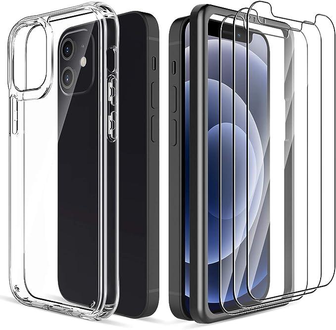 Lk Hülle Mit Schutzfolie Kompatibel Mit Iphone 12 Mini Elektronik