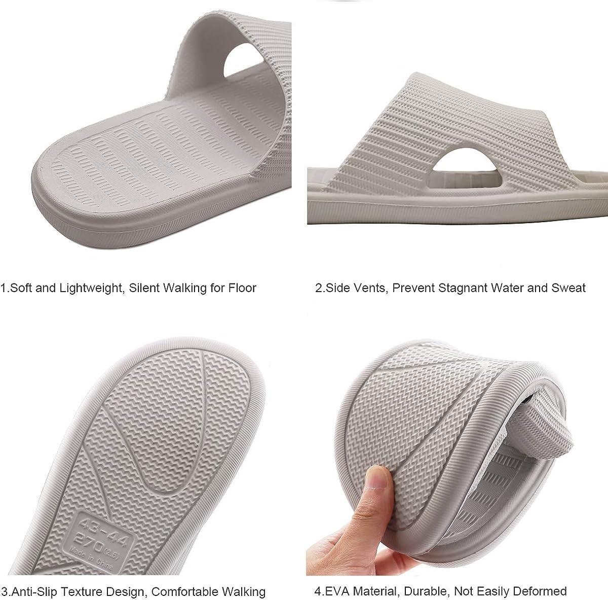 G-TASTE Printemps Et/é Pantoufles Domestiques Int/érieur et Ext/érieur Anti-Slip Sandal Couple Mules Pantoufles Sandales Piscine Sandale