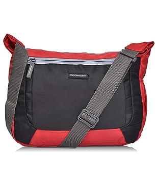 Adamson Glorious Men and Women Black and red slingbag (ASB-047)