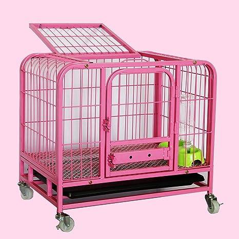 Jaulas para mascotas, potentes jaulas para perros Potentes jaulas de metal y cajas grandes para facilitar ...
