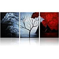 Santin Art - Modern Abstract Painting Wall Decor Landscape Paintings