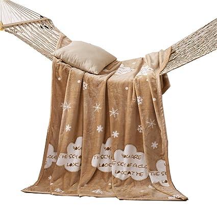 Amazon.com: Cozzy 380 GSM Microfiber Plush Fleece Blanket ...