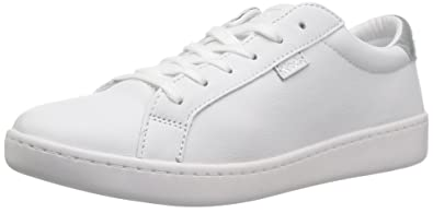 best sneakers d8d63 0b3de Keds Ace Leather. Women 6 White Sliver