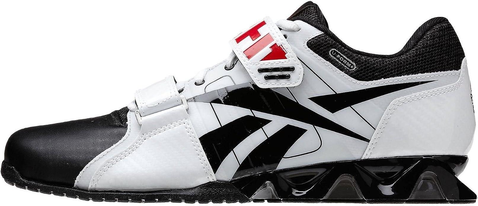 Reebok R Crossfit Lifter Plus Zapatillas de Entrenamiento para Hombre, Blanco (Blanco), 8.5 B(M) US: Amazon.es: Zapatos y complementos