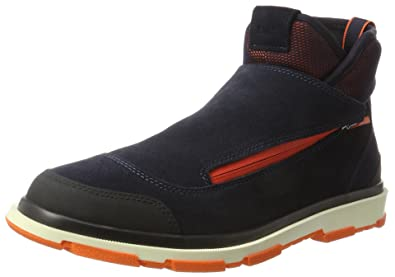 Storm Brogue High, Desert Boots Homme - Multicolore - Mehrfarbig (Navy/Black/Orange)Swims
