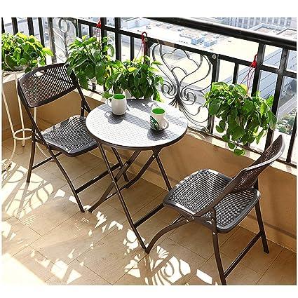 Tavoli E Sedie Da Giardino Pvc.Dore Home Scrivania Pvc Tavolo Da Giardino In Rattan E Sedia
