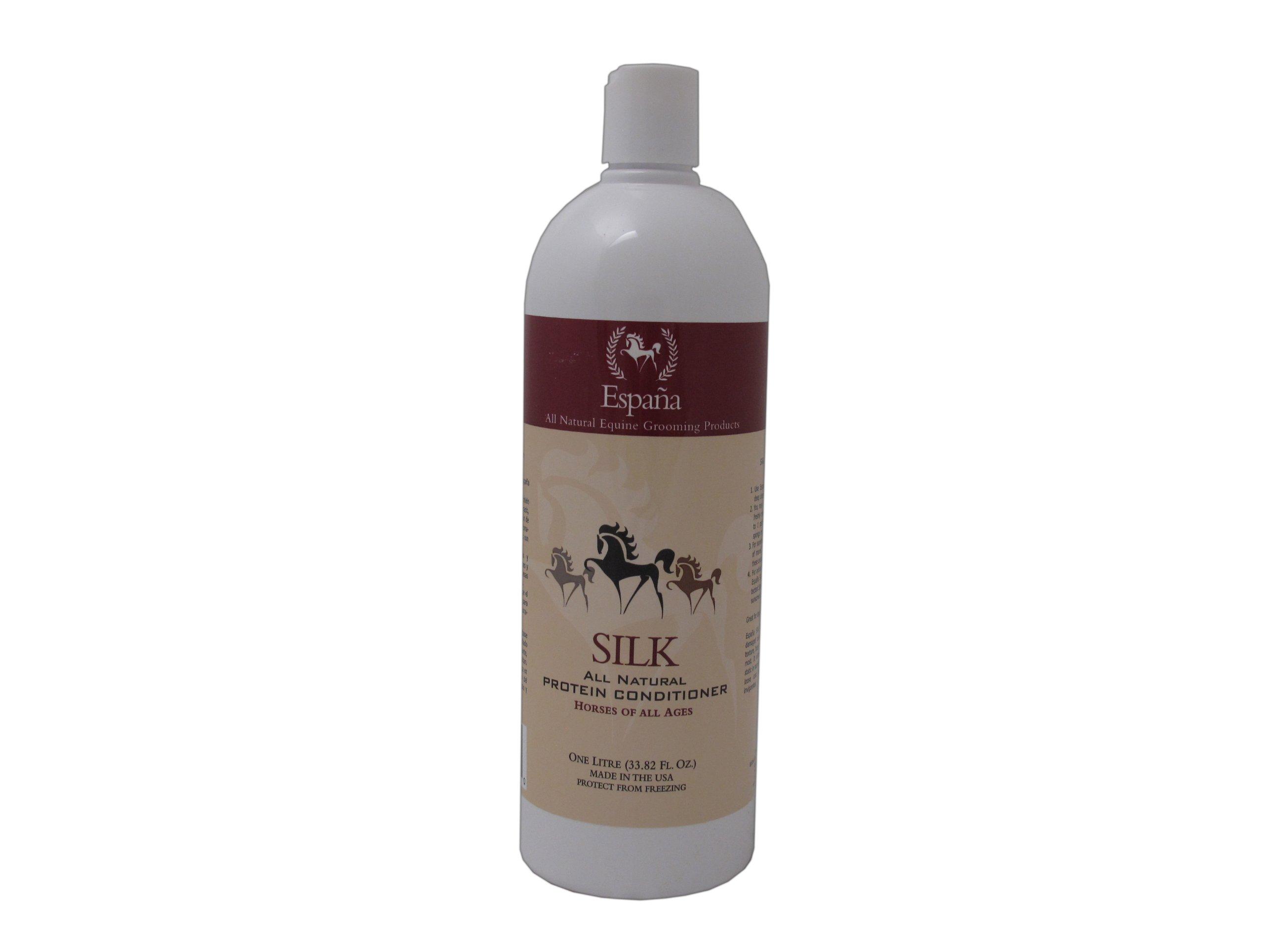 Espana Silk ESP1020E Specially Formulated Silk Protein Conditioner for Horses, 33.82-Ounce by EspanaSILK