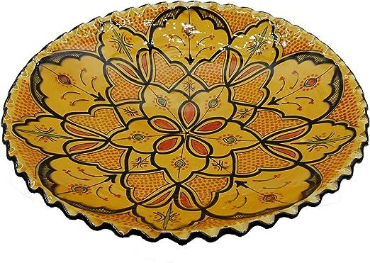 Etnico 0506191252 - Plato de Centro de Mesa de cerámica para Pared ...