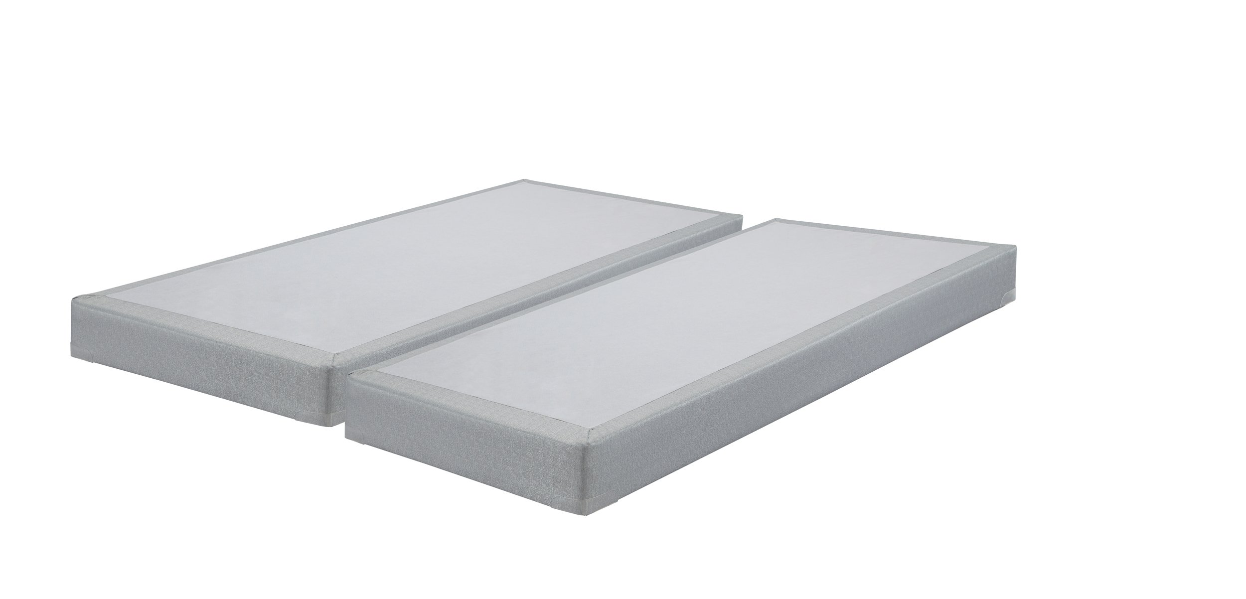 Ashley Furniture Signature Design - Ashley Sleep - Low Profile - Contemporary King Size Mattress Foundation - Gray