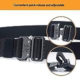 Tactical Belt, Military Nylon Web Belt with