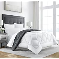Sleep Restoration Goose Down Alternative Comforter - Reversible - All Season Hotel Quality Luxury Hypoallergenic Comforter
