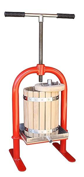 Tornillo de Botón VP-10 - exprimidor para diseño de manzanas, uvas, de bayas, de primer plano, vino, sidra: Amazon.es: Hogar