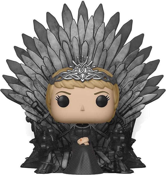 Funko- Pop Deluxe: Game of S10: Cersei Lannister Sitting on Iron Throne Figura Coleccionable, Multicolor (37796): Amazon.es: Juguetes y juegos