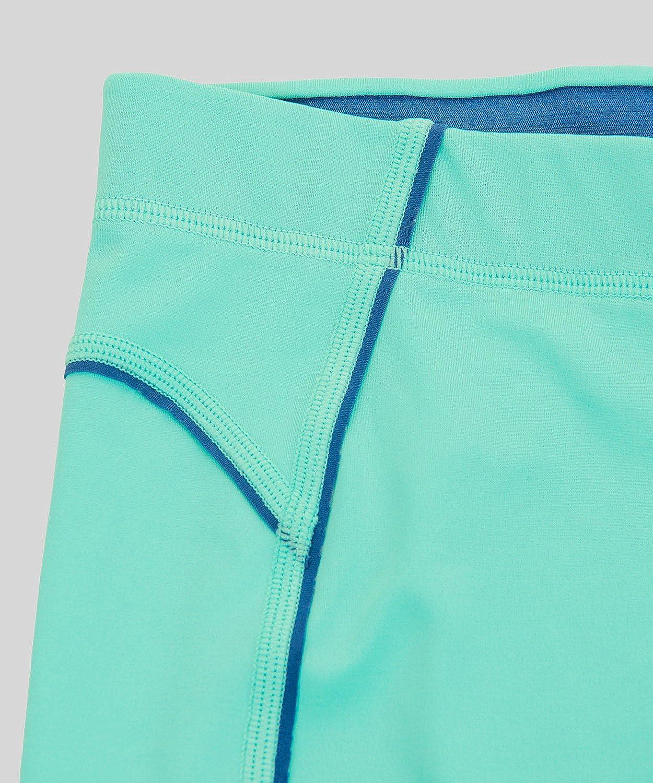 SYROKAN Femme Leggings de Sport Pantalons Capri Jogging Yoga Collants