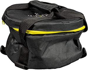 Lodge AT-8 Bag Camp Dutch Oven Tote, 8 Inch, Black