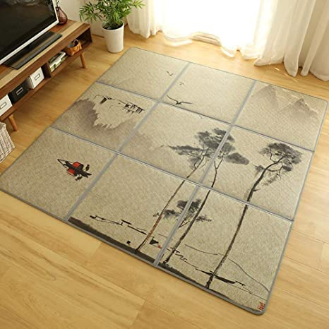 Amazon.com: Japanese Tatami Mat Thick Floor Mattress Play ...