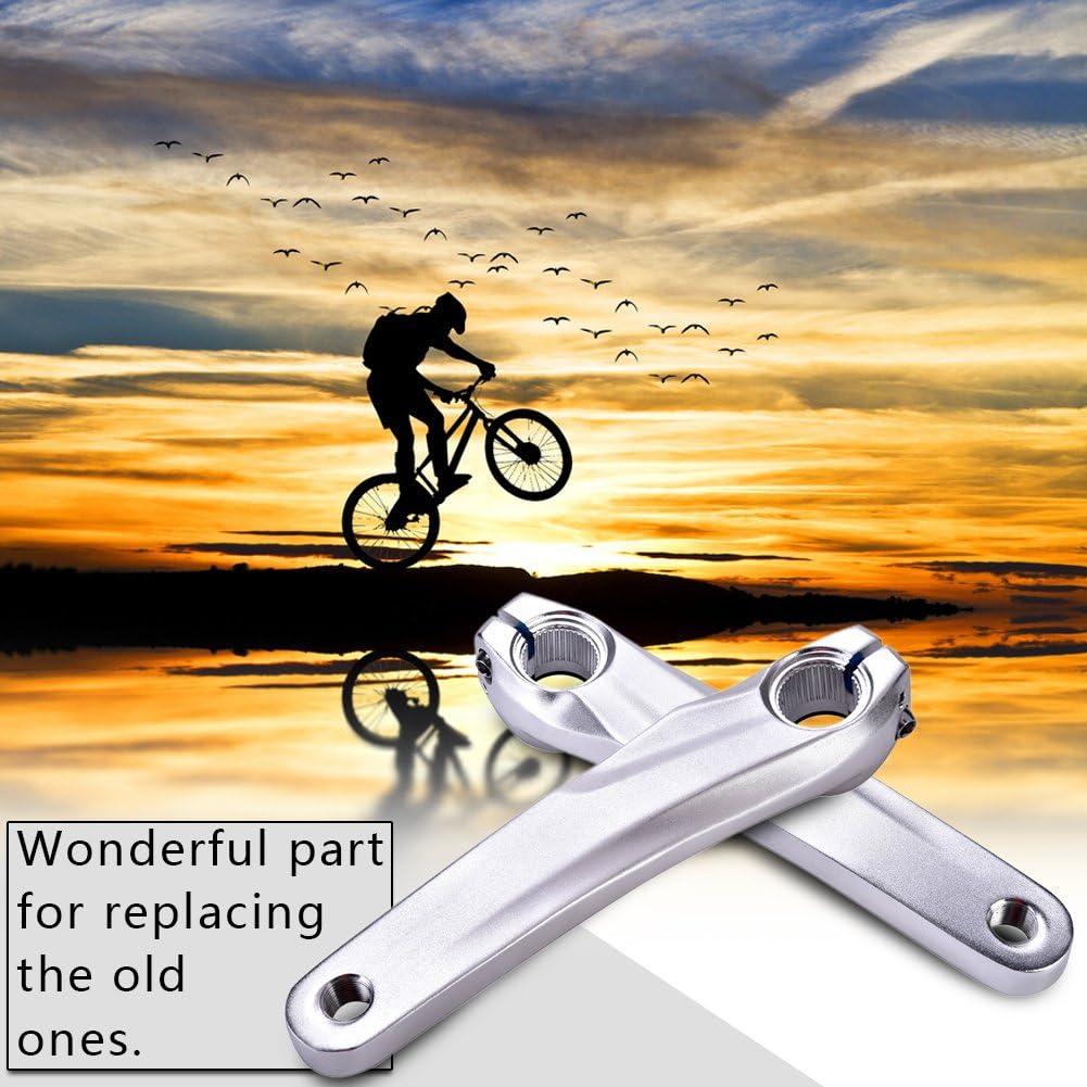 Aluminum Alloy Bicycle Left Crank Arm for Shimano 590 610 SLX XT XTR Crankset 170MM MTB Road Mountain Bike Crank Arm