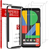 QITAYO Protector de Pantalla Google Pixel 4XL, 3 Pack, 0.3mm, 2.5D, Dureza 9H, HD Clear, Google Pixel 4XL Cristal…
