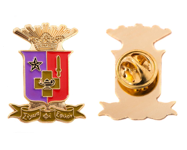 Desert Cactus Sigma Phi Epsilon Fraternity Crest Lapel Pin Enamel Greek Formal Wear Blazer Jacket sig ep