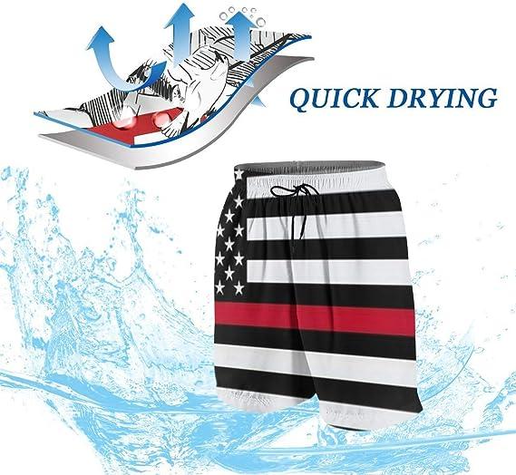 Yitlon8 Grey Hockey Boys Teens Swim Trunks Quick Dry Surfing Beach Sports Running Swim Shorts with Drawstring 6T to 18//20