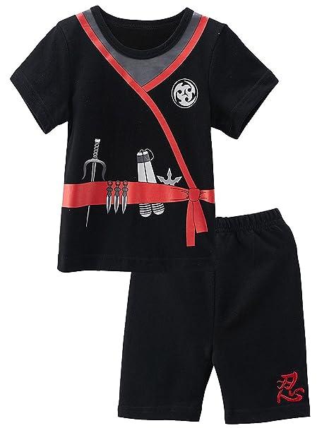 MOMBEBE COSLAND Conjunto de Camiseta para Bebé Niños Manga Corta Disfraz