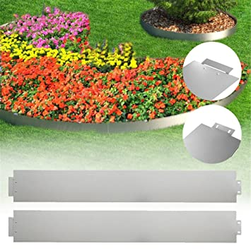 Rasenkante 13cm verzinkt 18,8M  Rasenkantenprofile Beeteinfassung Beetumrandung