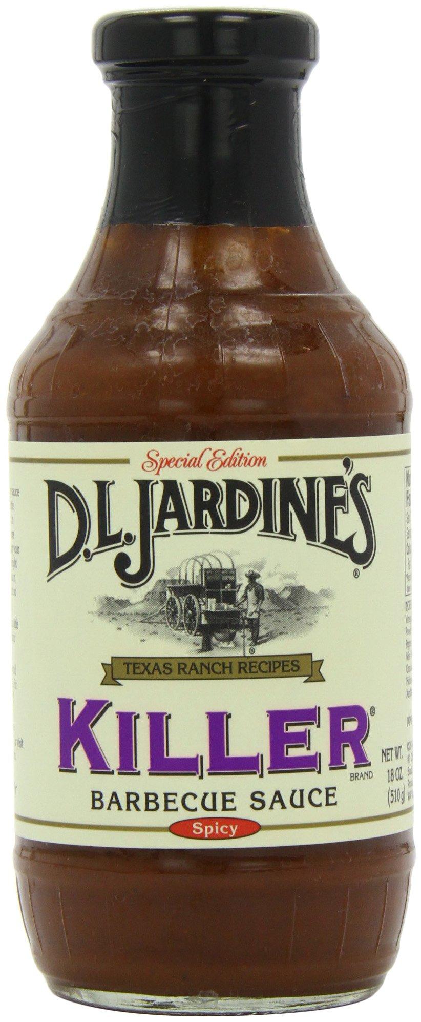 Jardines Texas Foods Bbq Sce, Killer, 21-Ounce (Pack of 3)