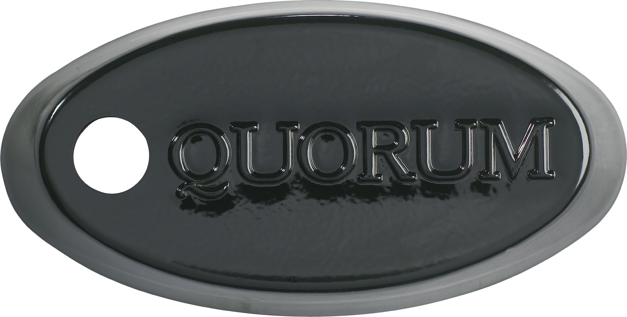 Quorum 6-015, Downrod Coupler, Black