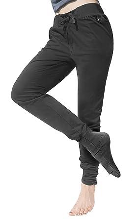 Panttoo. Pants That End Cold Feet Too. Negro Pantalón Señora para ...