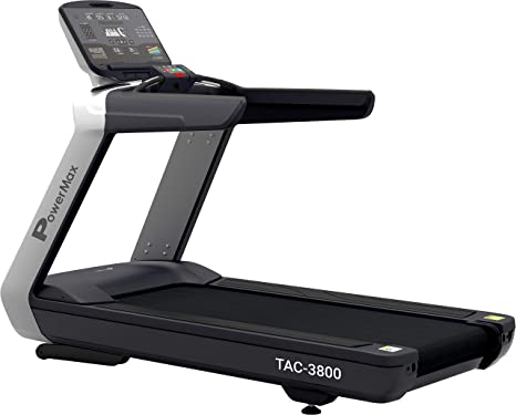 8f4e8f17de Buy Powermax Fitness TAC-3800 Commercial Motorised AC Treadmill Online at  Low Prices in India - Amazon.in