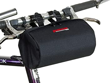 Bushwhacker Cody Black Bicycle Handlebar Seat Bag