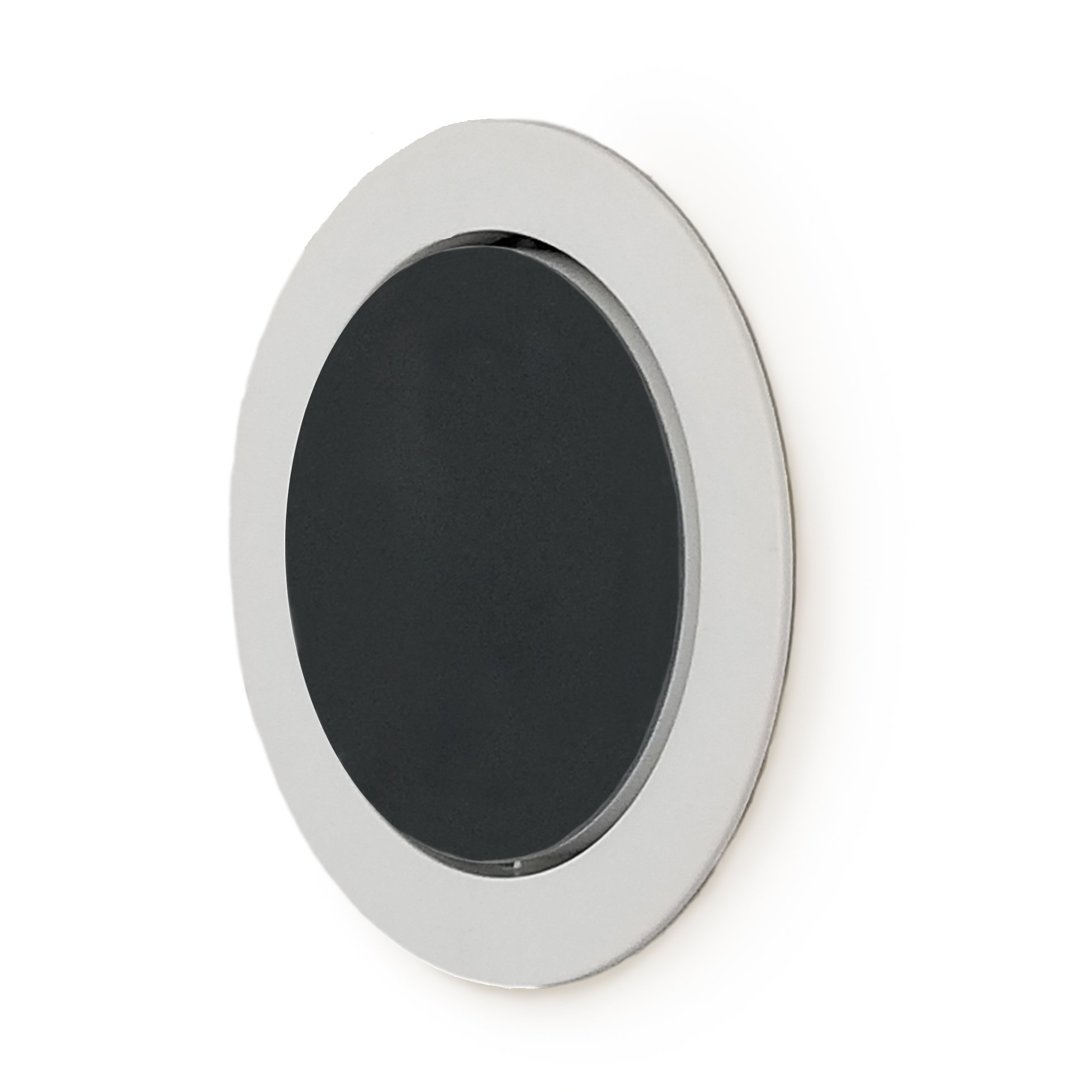 Mount Genie Flush Mount - Built-in Wall or Ceiling Mount for Round Puck Speakers with Included Wiring (1-Pack) by Mount Genie