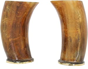 Buddha4all Set of 2 Metal Covered Base Ceremonial 6