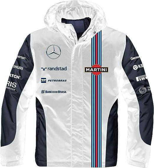 The Team Racing Martini White For Men/'s Pullover Hoodie Sweatshirt