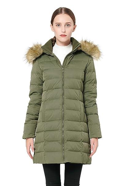 Amazon.com: Orolay YRF8003Q Chaqueta de invierno para mujer ...