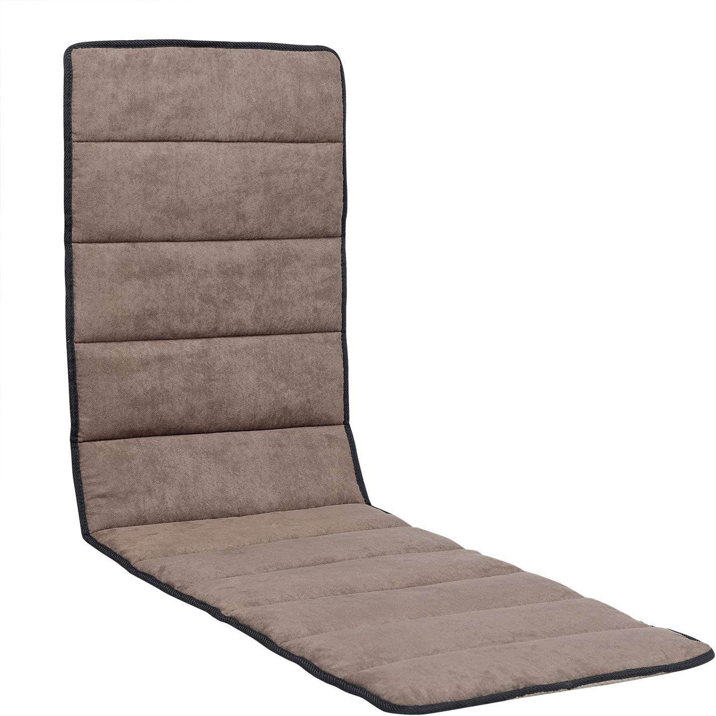 Removable Garden Lounger Recliner Pad Outdoor Office Deck Chair Cushion Seat Mat