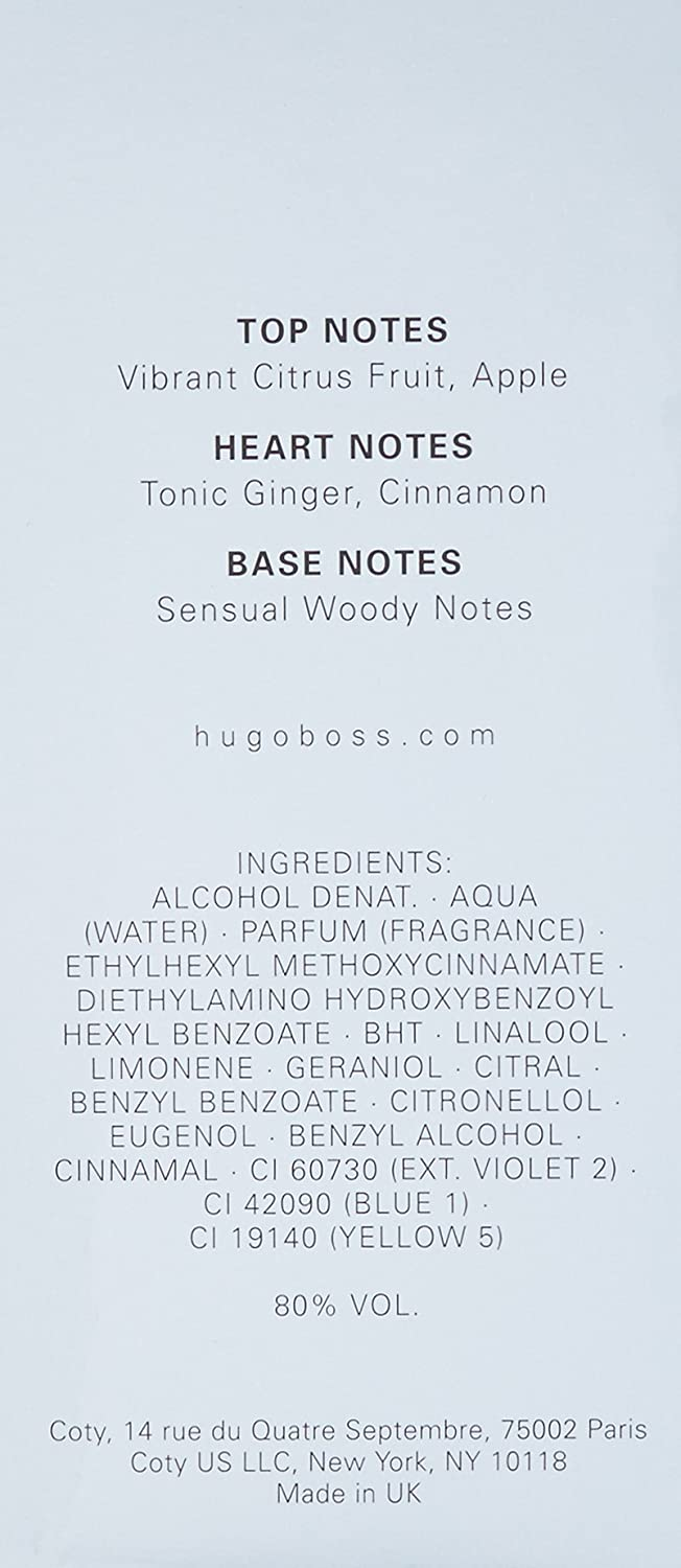 Hugo Boss Bottled Tonic Agua de Tocador Vaporizador - 100 ml: Amazon.es: Belleza