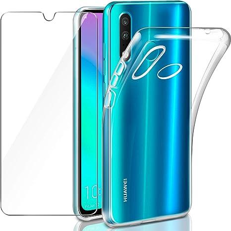 Leathlux Funda Huawei P30 Lite / P30 Lite New Edition + Cristal ...