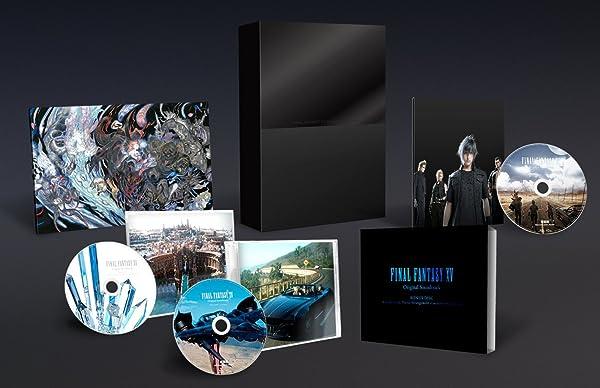 【Amazon.co.jp限定】FINAL FANTASY XV Original Soundtrack【映像付サントラ/Blu-ray Disc初回生産限定特装盤】(未収録トレーラー楽曲集(CD)付)