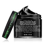 Irish Moor Mud Purifying Black Mask, Decongesting Facial Mask, Helps Reduce the...