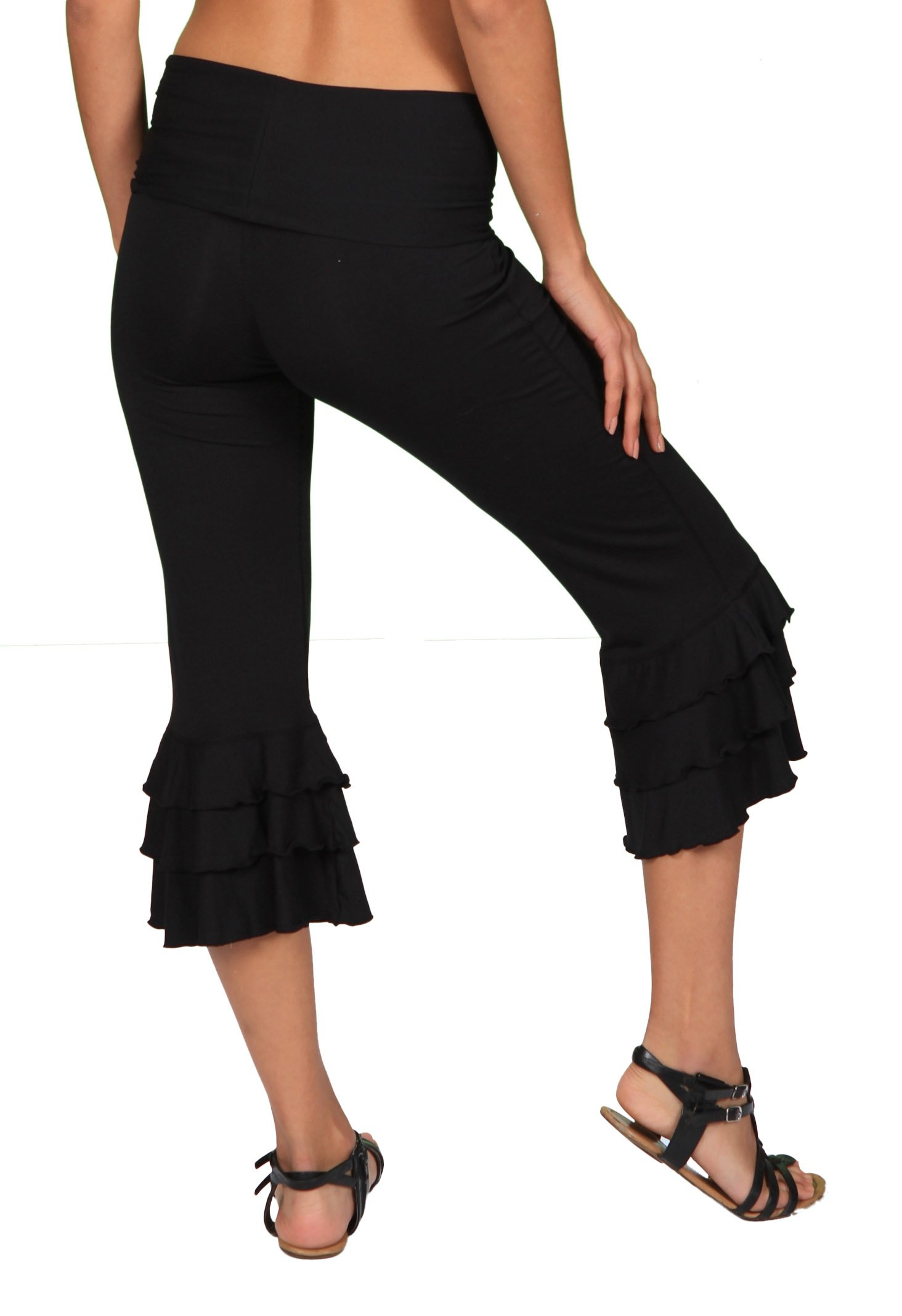 Women's Darlene Ruffle Pants