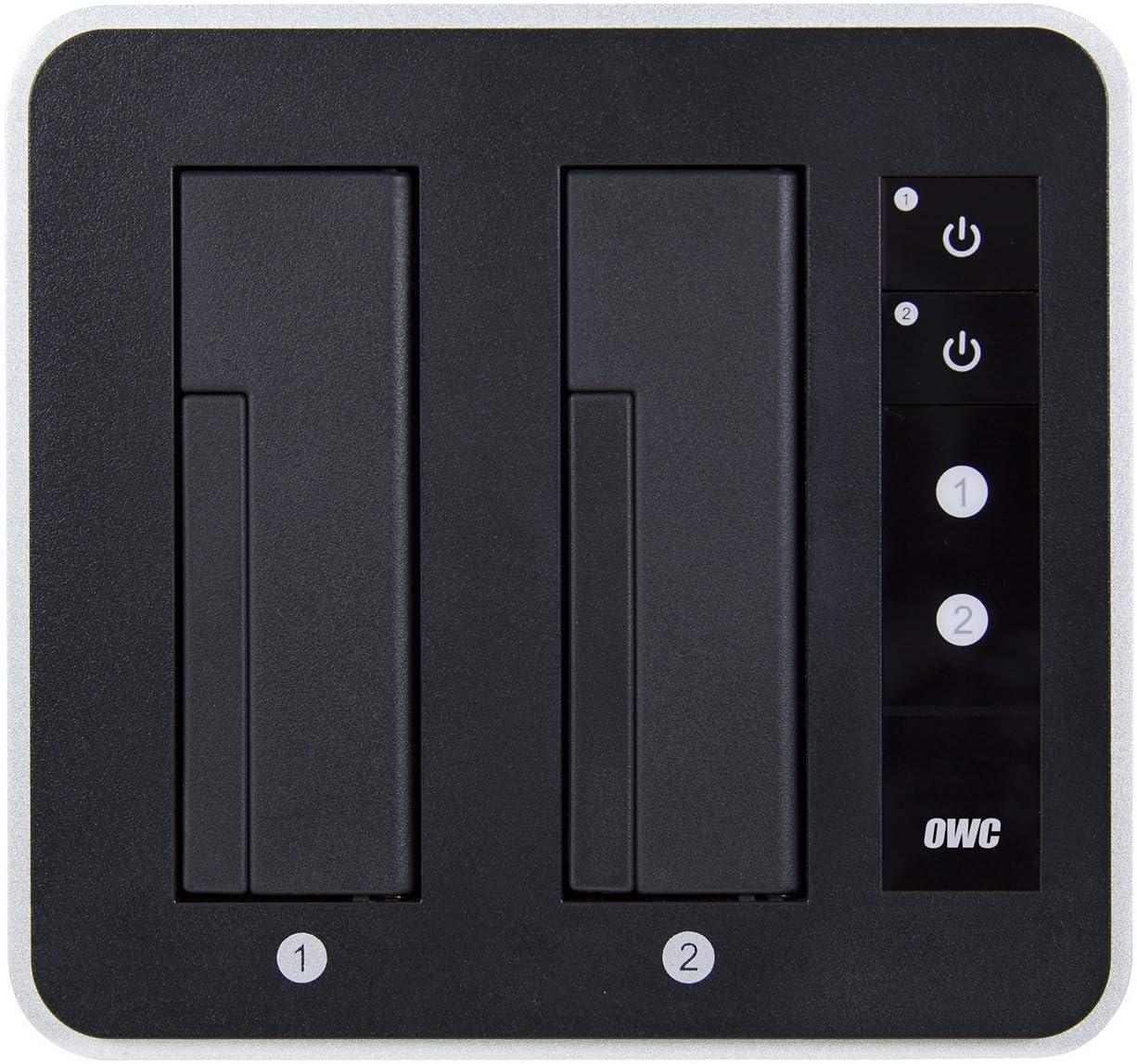 OWC Drive Dock Negro, Blanco - Bases de conexión para Discos Duros ...