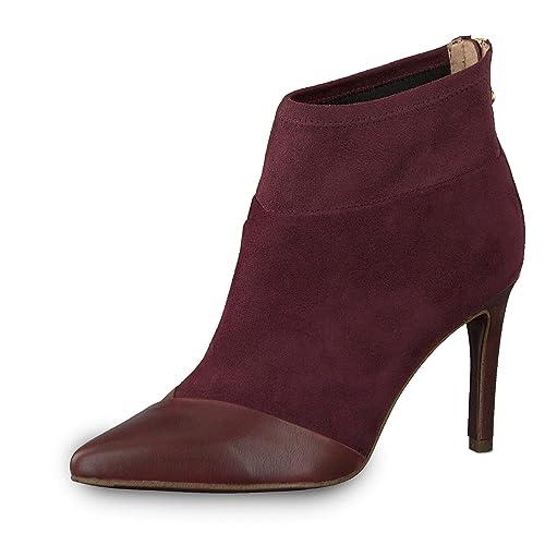 Repliken preiswert kaufen modernes Design Tamaris Damen Stiefeletten 1-1-25384-21/523 rot 522031 ...